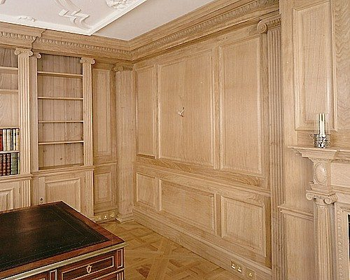 Wall Panelling Traditional Interior Oak And Wood Panelling
